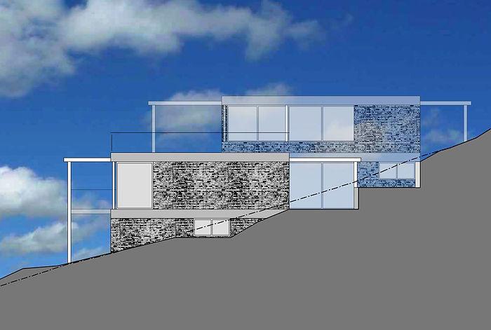 Terrassenhaus, Scarborough South Africa. EpprechtArchitekten AG. Aarburg & Olten.