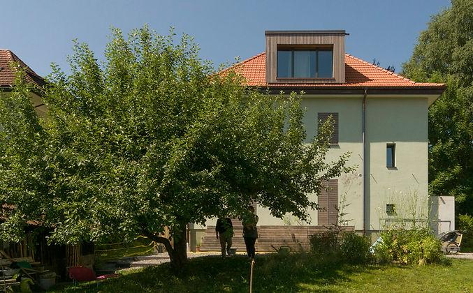 Sanierung Stadthaus Aarau Minergie-P