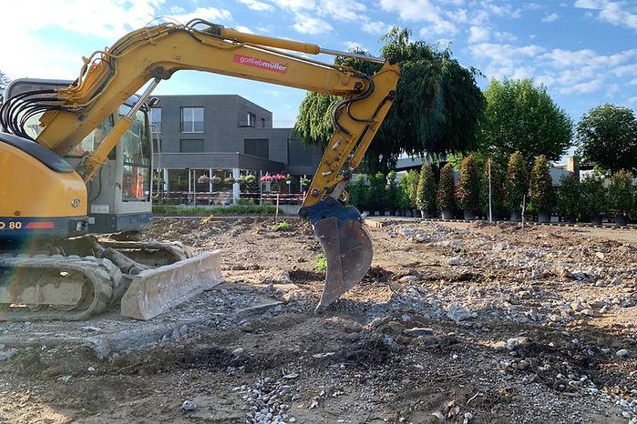 Baumschule Haller AG, Baustart