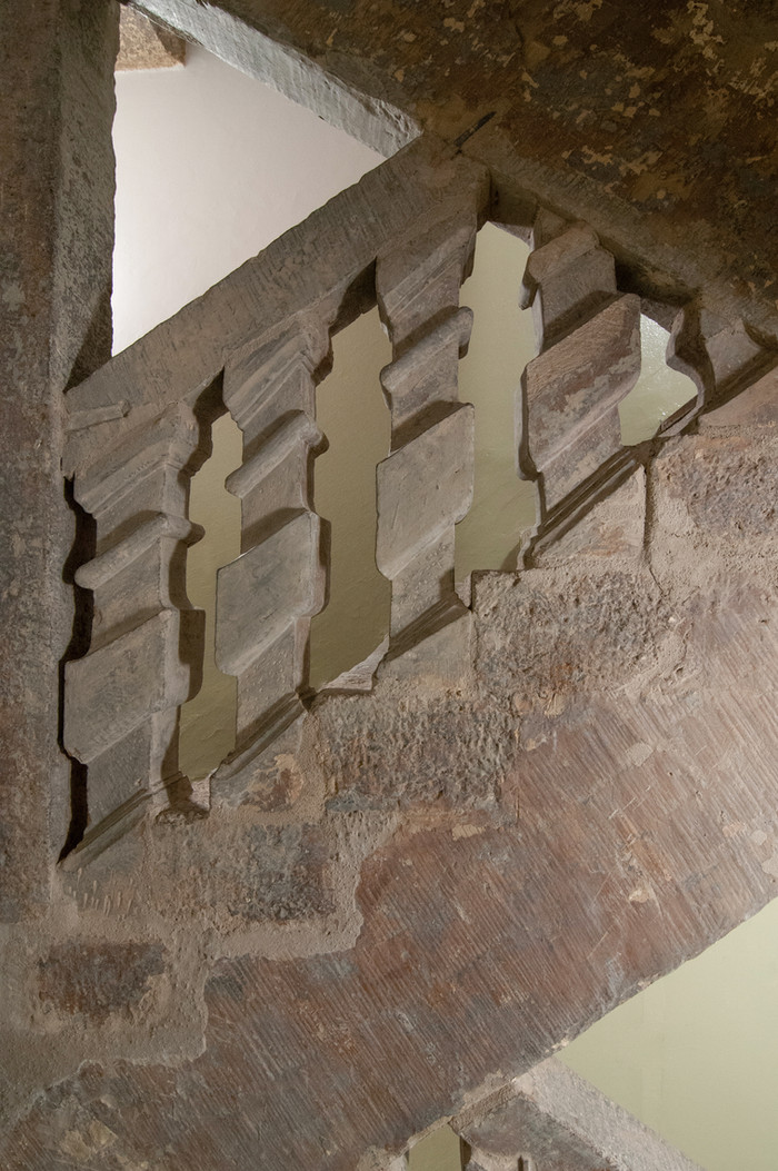 Hemmelerhaus saniertes Treppenhaus