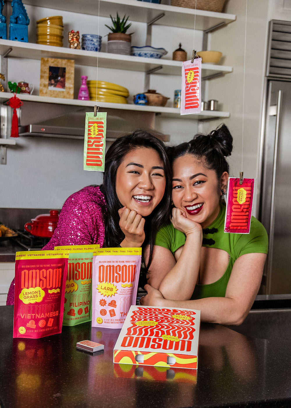 Omsom's Co-founders Vanessa and Kim Pham