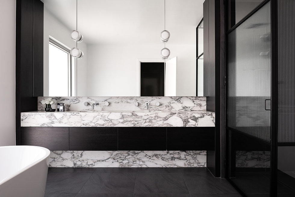 Luxury Bathroom by Nickolas Gurtler Interior Design