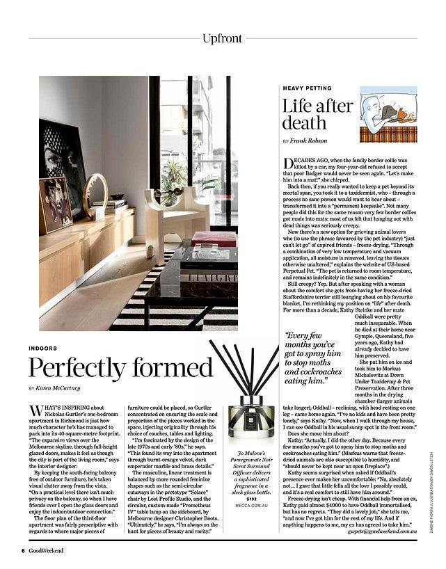 Nickolas Gurtler Interior Design Good Weekend Magazine