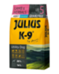 Julius-K9 City Dog Duck & Pear grain-free dogfood for adults