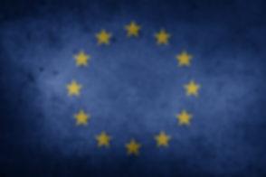 European union flag and stars