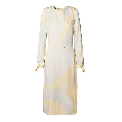 Marbled Slip Dress