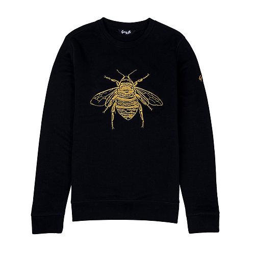 Signature Bee Embroidered Sweatshirt