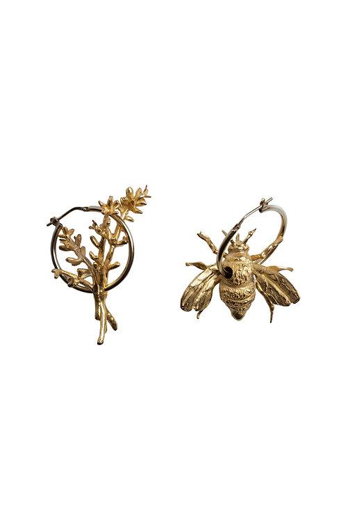 Beatrice Bee Hoops