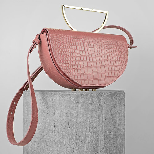 The Muse ~ Dusty Pink Croco