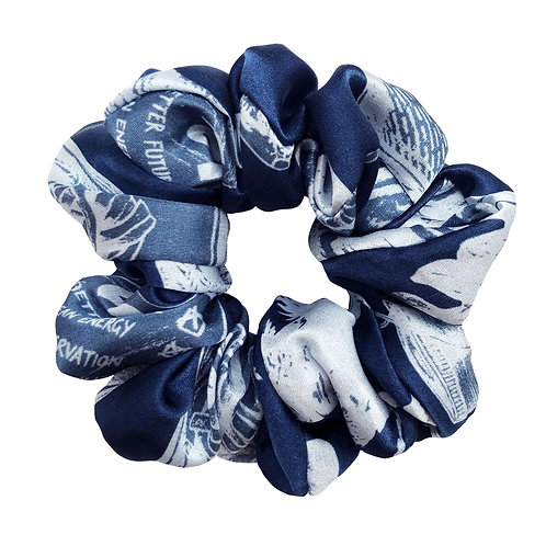 Action Silk Scrunchie