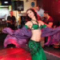Amira Jade performance with MB Orchestra at Harissa