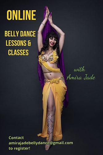 Amira Jade Online Bellydance Classes