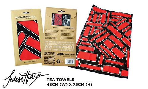 TEA TOWELS - Dja Abu (Camp Ground)