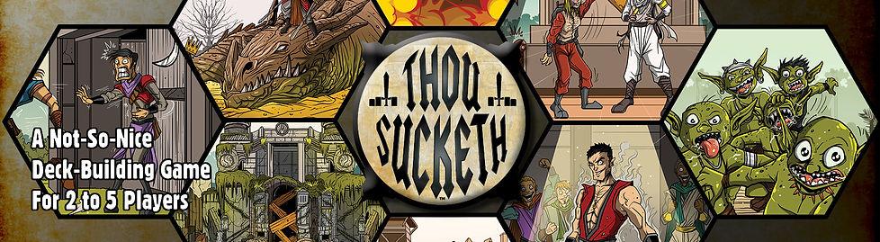 Thou Sucketh Logo