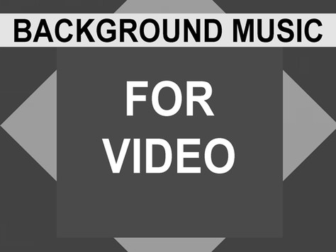 Background Music for Video
