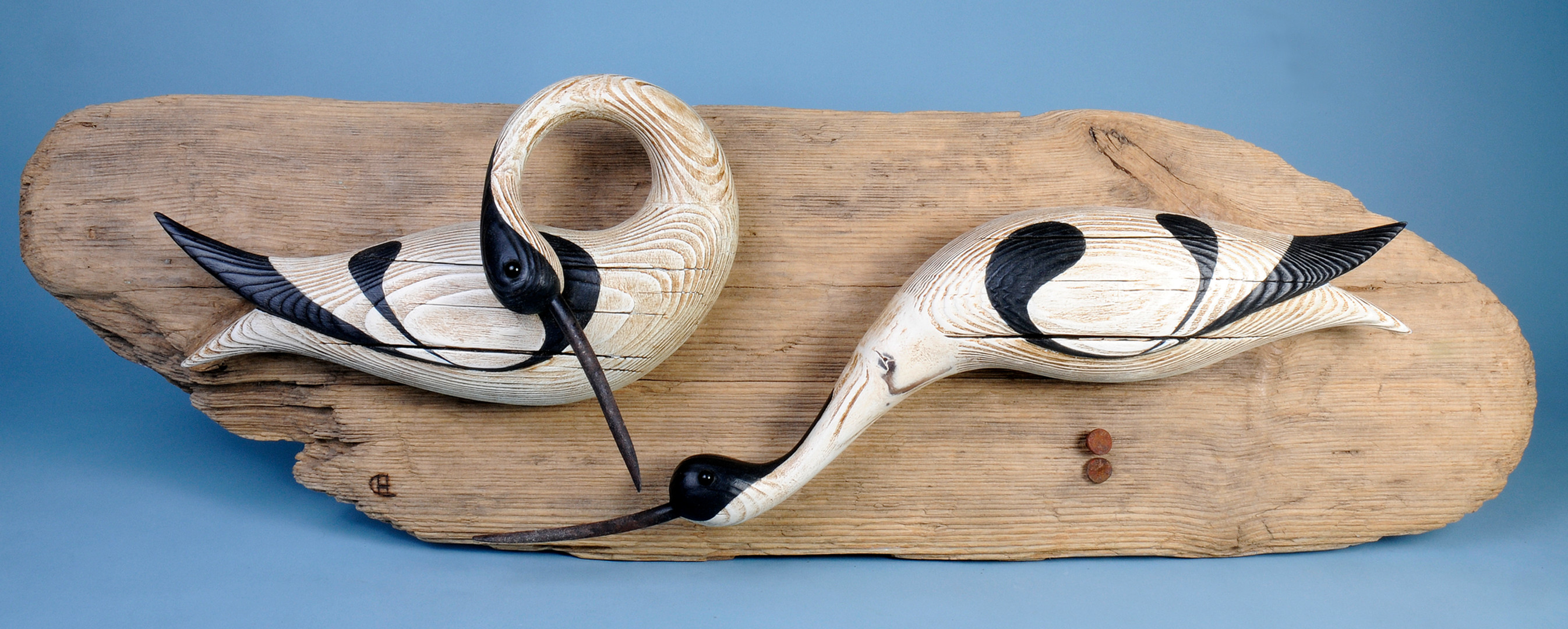 Avocets (wall mount)