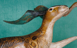 Hare Head, (from boxing hares)