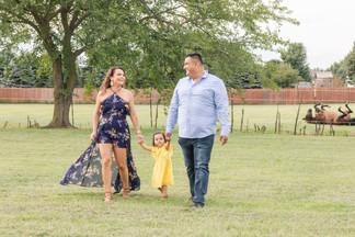 Custer Park Summer Family Session Joliet