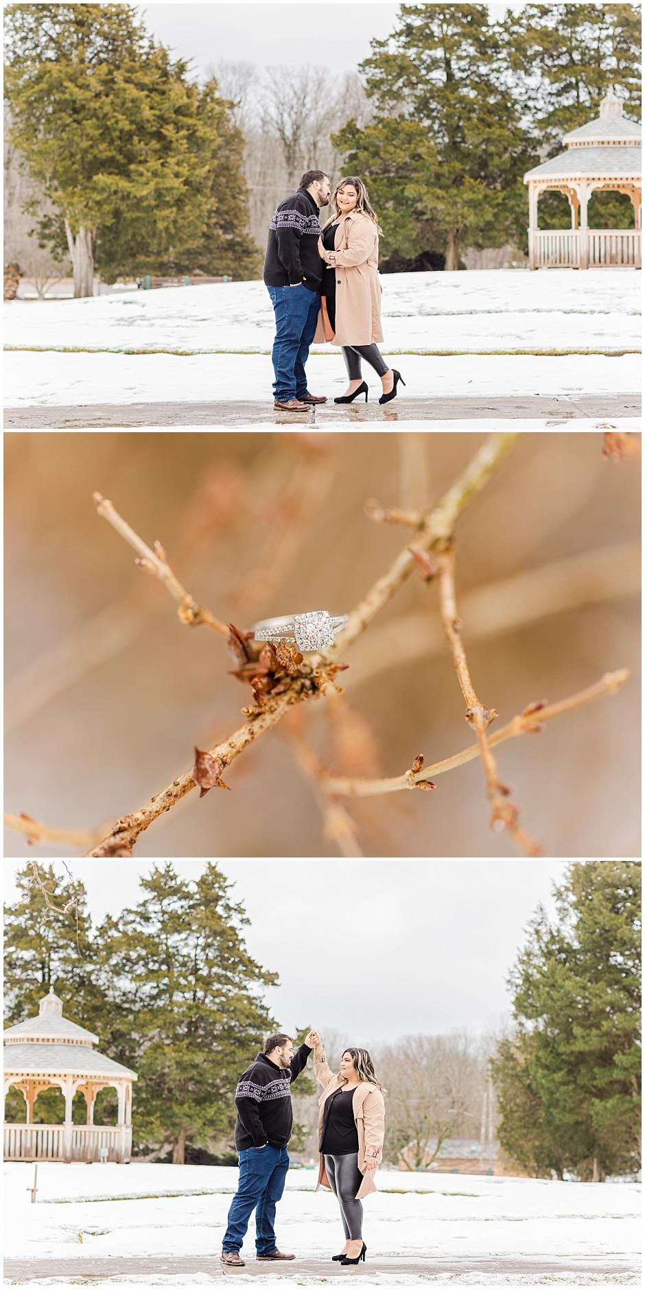 BIRDHAVEN GREENHOUSE ENGAGEMENT SESSION JOLIET IL WEDDING PHOTOGRAPHER