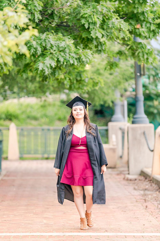 Billie Limacher Bicentennial Park Joliet IL Graduation Pictures Joliet West High School Class of 2019