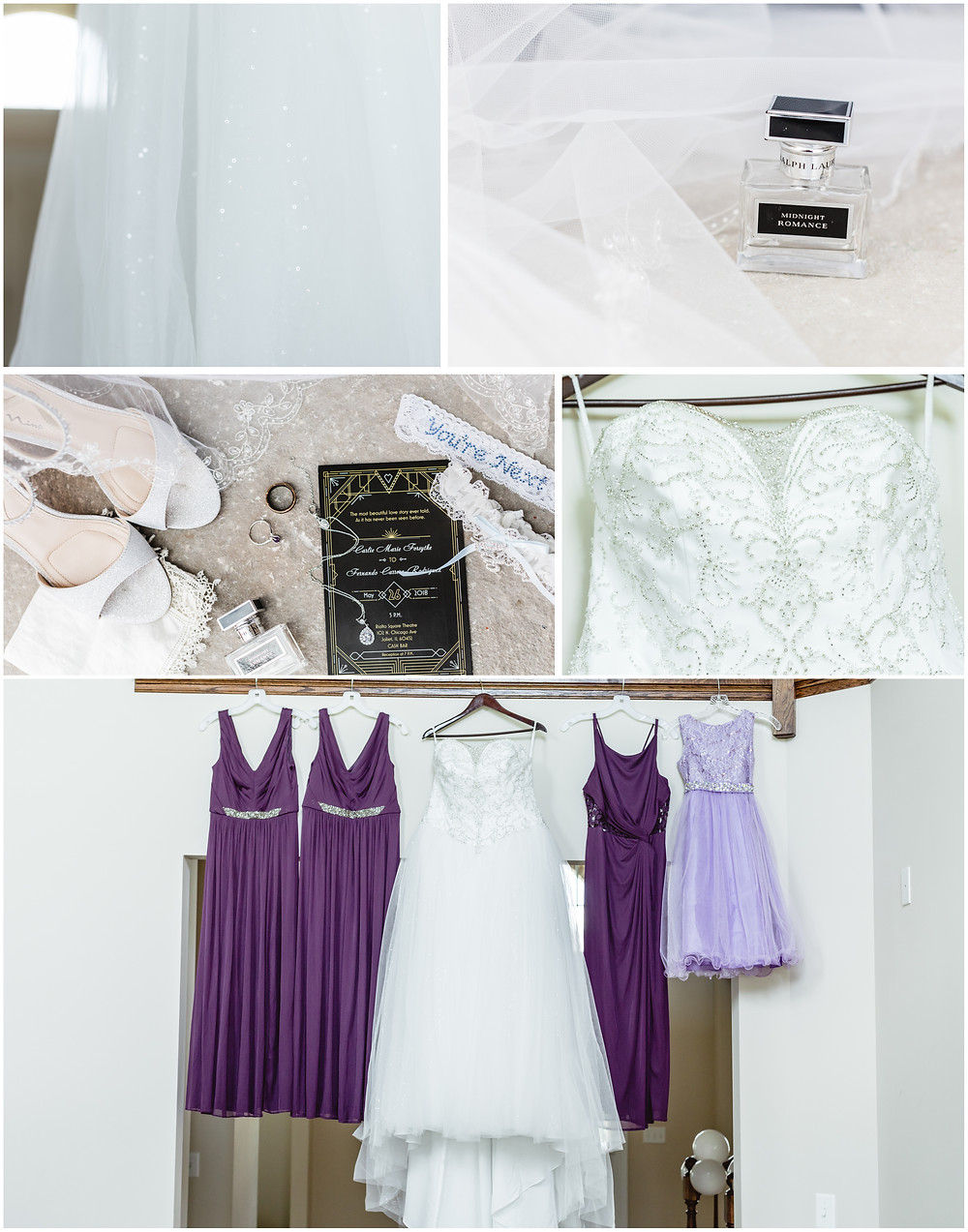 Rialto Square Theatre Joliet, IL Wedding│Carlier + Fernando
