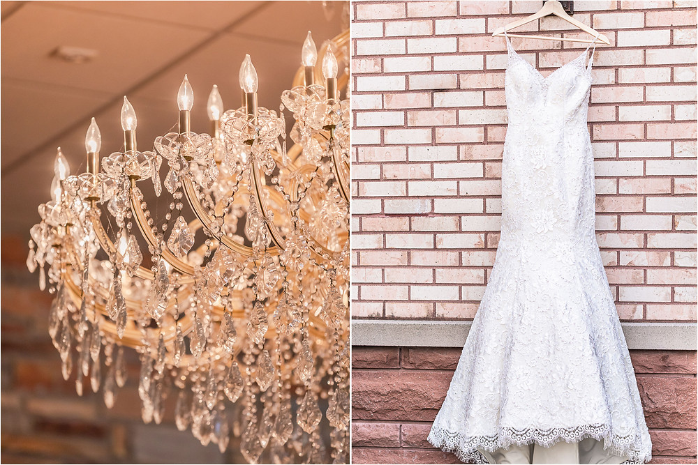 Jennifers Garden Baquet and Convention Center Morris Illinois Wedding Photographer and Videographer natural flowers white dress navy bridesmaid pilot captain joliet photographer wedding photos wedding inspo