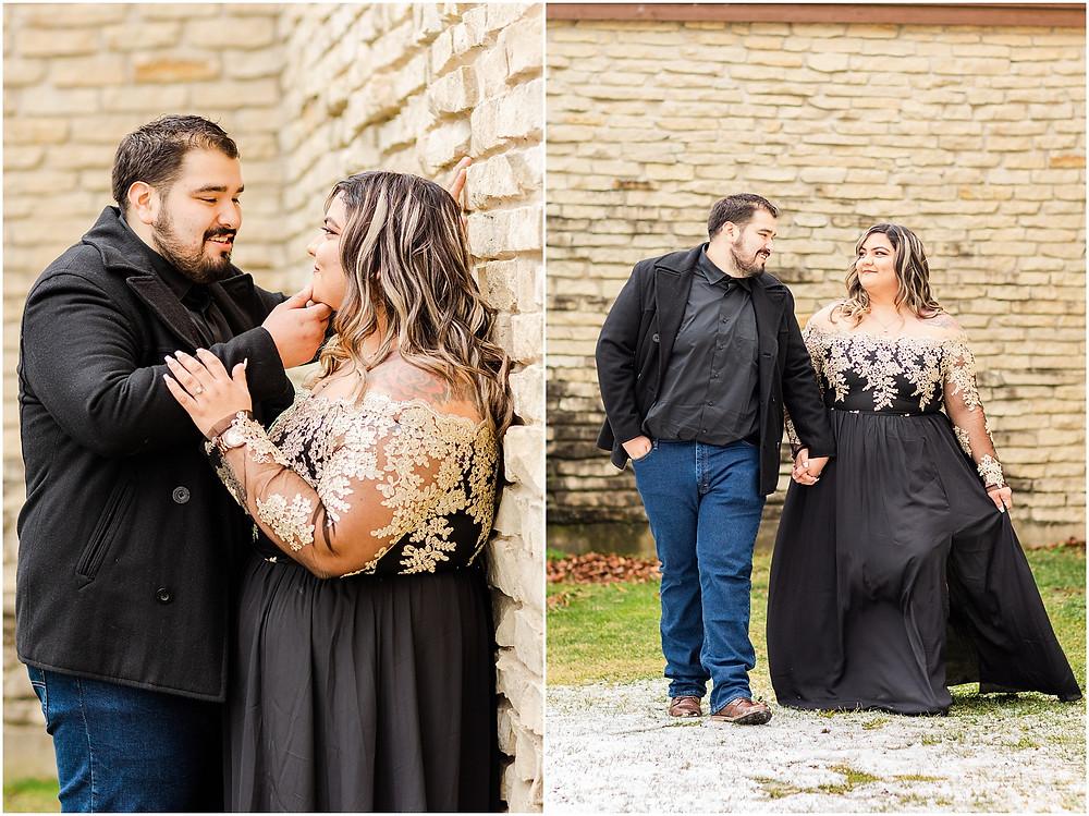 BIRD HAVEN GREENHOUSE ENGAGEMENT SESSION JOLIET IL WEDDING PHOTOGRAPHER