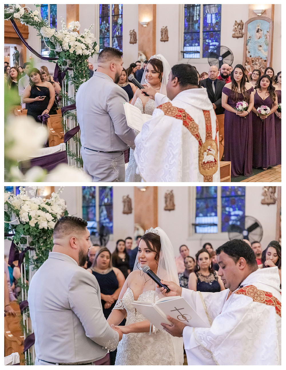 traditional mexican wedding photographer in chicago charro outfit cathedral veil with blusher perfect chicago wedding joliet photogrpaher