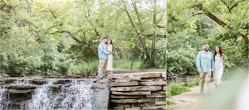 waterfall-glen-lemont-illinois-engagement-session-during-phase-recovery-pandemic-2020-covid-19
