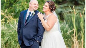 JACLYN + KYLE│A Rustic Wedding,  Jennifer's Garden │ Morris, IL