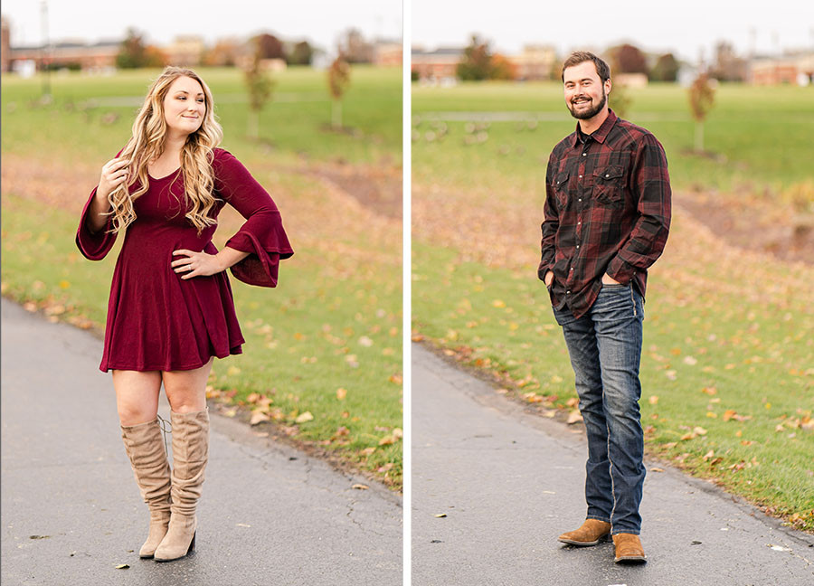 Settlers park fall engagement session, plainfield il, engagement photographer, wedding photographer in joliet il, fall colors, engagement photos, wedding photos, engaged, downtown plainfield engagement session, engagement pictures