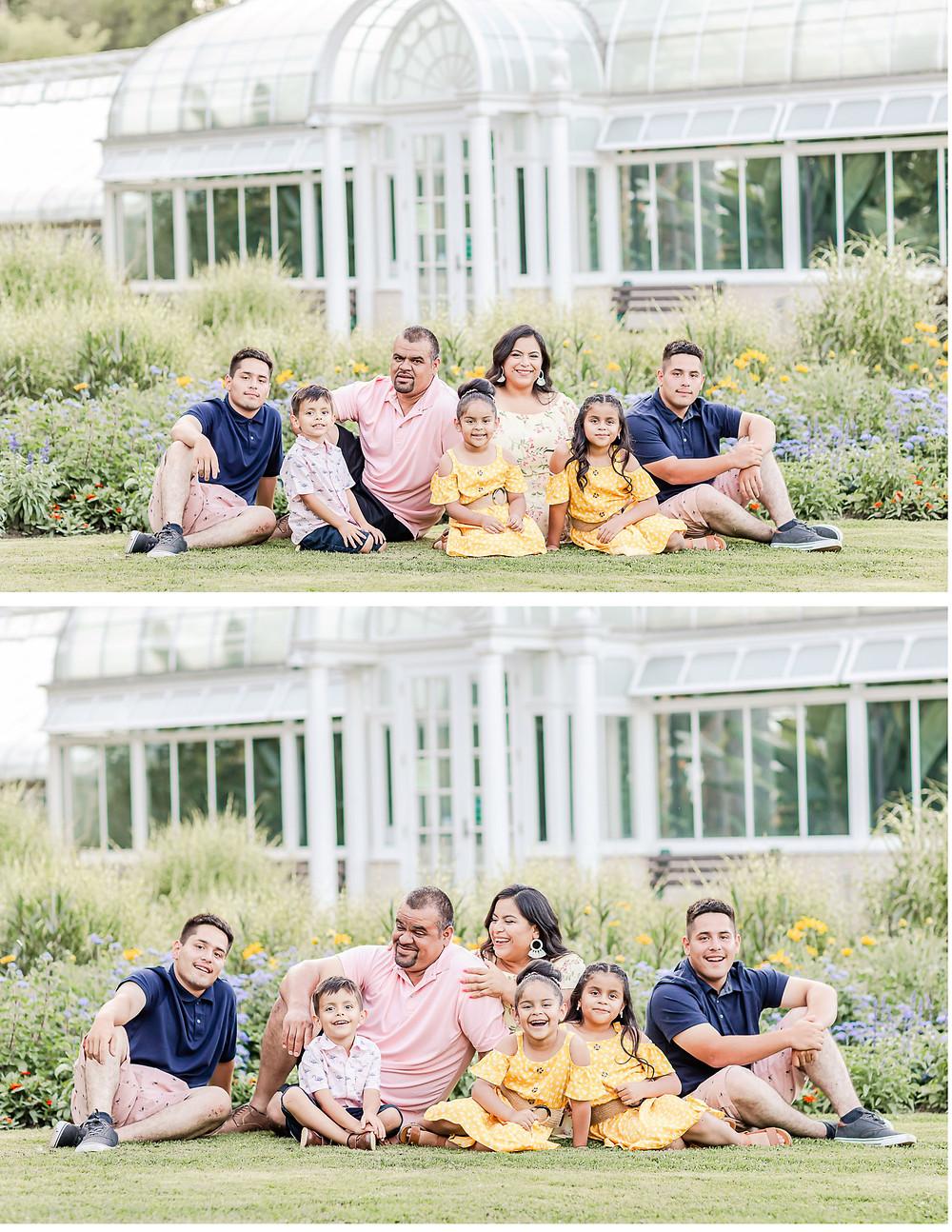 Bird Haven Green house Family photos joliet photographer