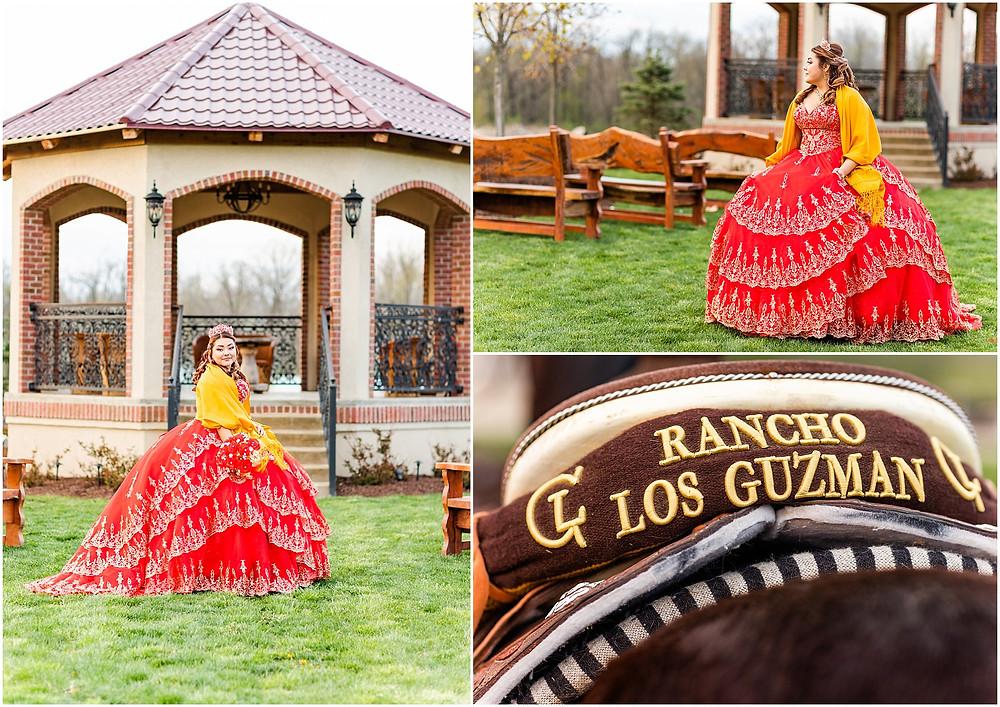 Quinceañera Mexican Heritage Ranch Rancho Los Guzman Joliet Illinois Photographer