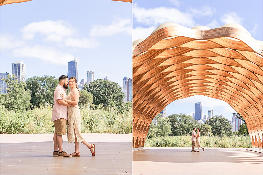 Lincoln park engagement session chi-town lake michigan engagement photographer honeycomb