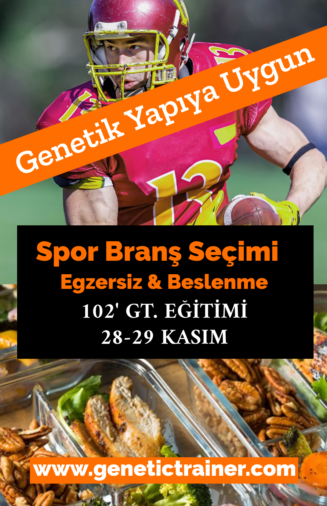 102 GENETIC TRAINER EĞİTİMİ