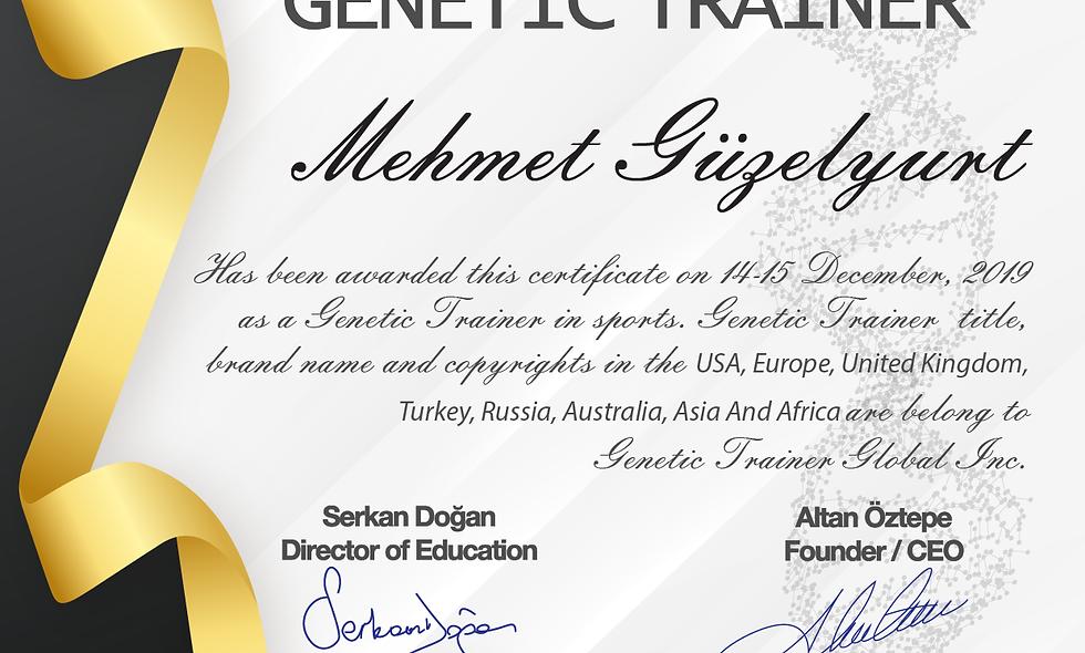 Senior Genetic Trainer®
