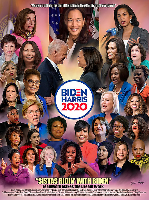 Sistas Ridin' With Biden - T-010