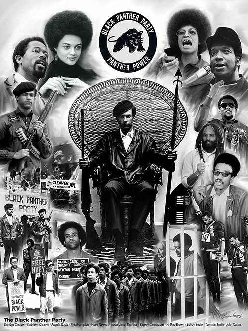 Black Panther Party - B-1036
