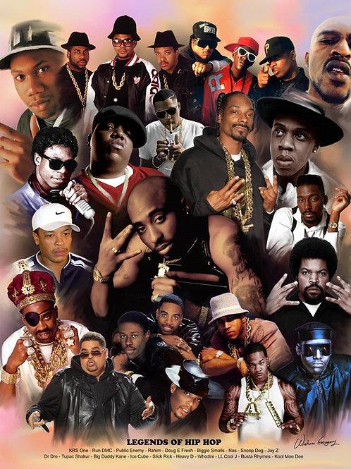 Hip Hop Legends - B-1535