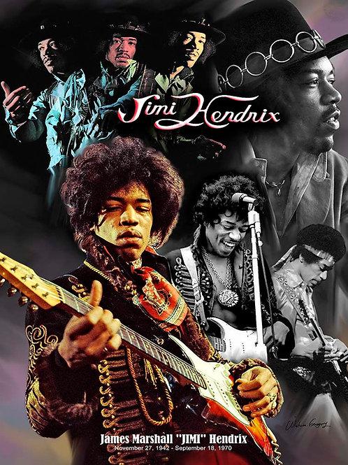 Jimi Hendrix B-4133