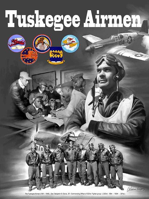 Tuskegee Airmen - B-1027