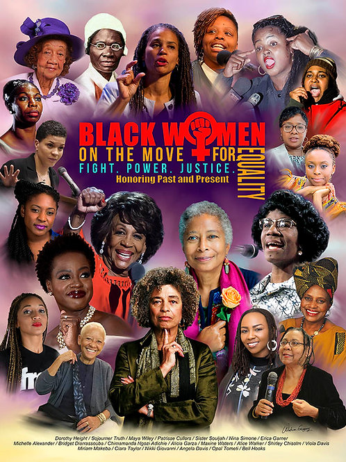Black Women on the Move - B-4283