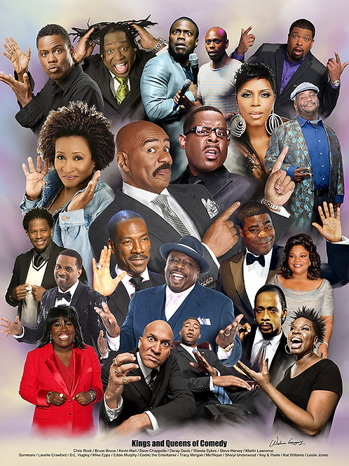 Kings and Queens of Comedy - B-3159