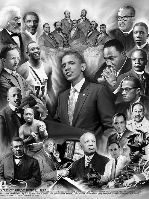 GREAT AFRICAN AMERICAN MEN - B 1049