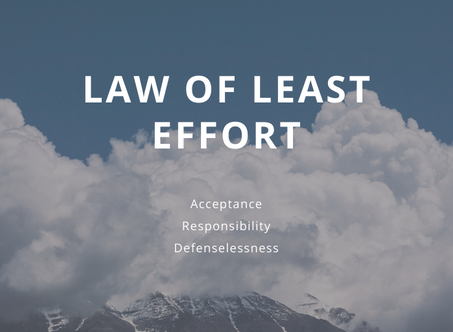 The Law of Least Effort: How it helps to drastically lower stress
