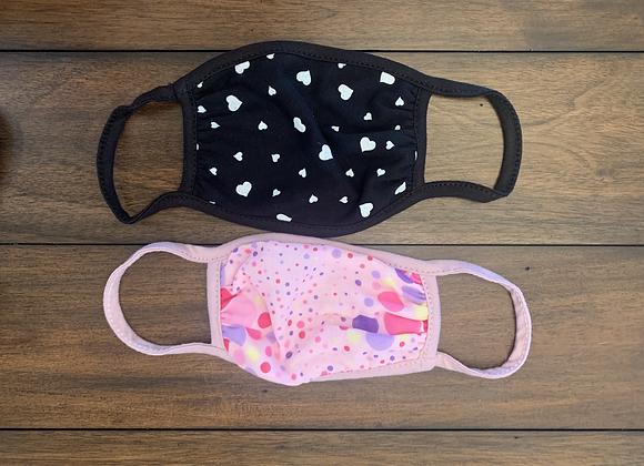 Girls Rule Facemasks - Kids 2 pack