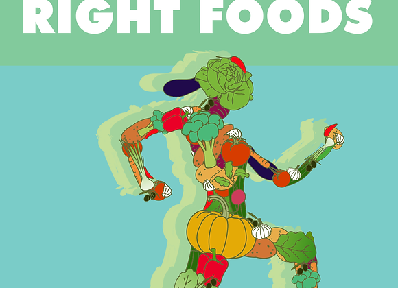 Healthy Body with The Right Foods eBook
