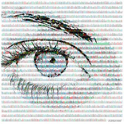 Blue eye colour variant