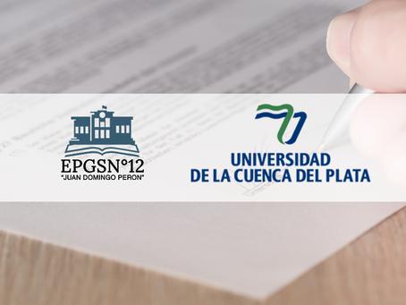 Firma de Convenio con la Universidad Cuenca Del Plata, sede Resistencia.