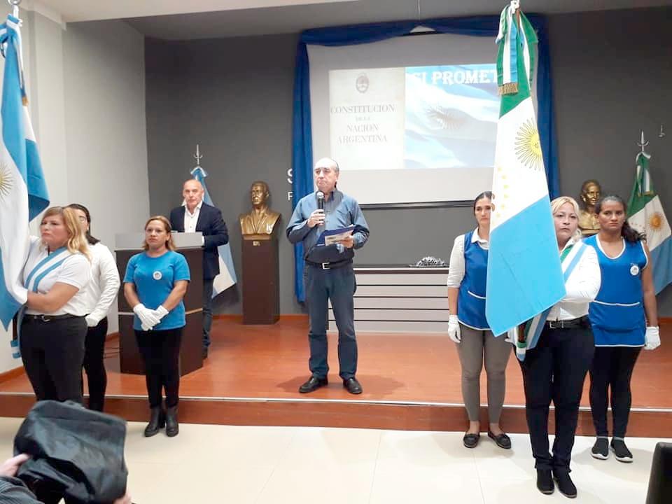 Acto en Conmemoración al Día de la Constitución Nacional Argentina